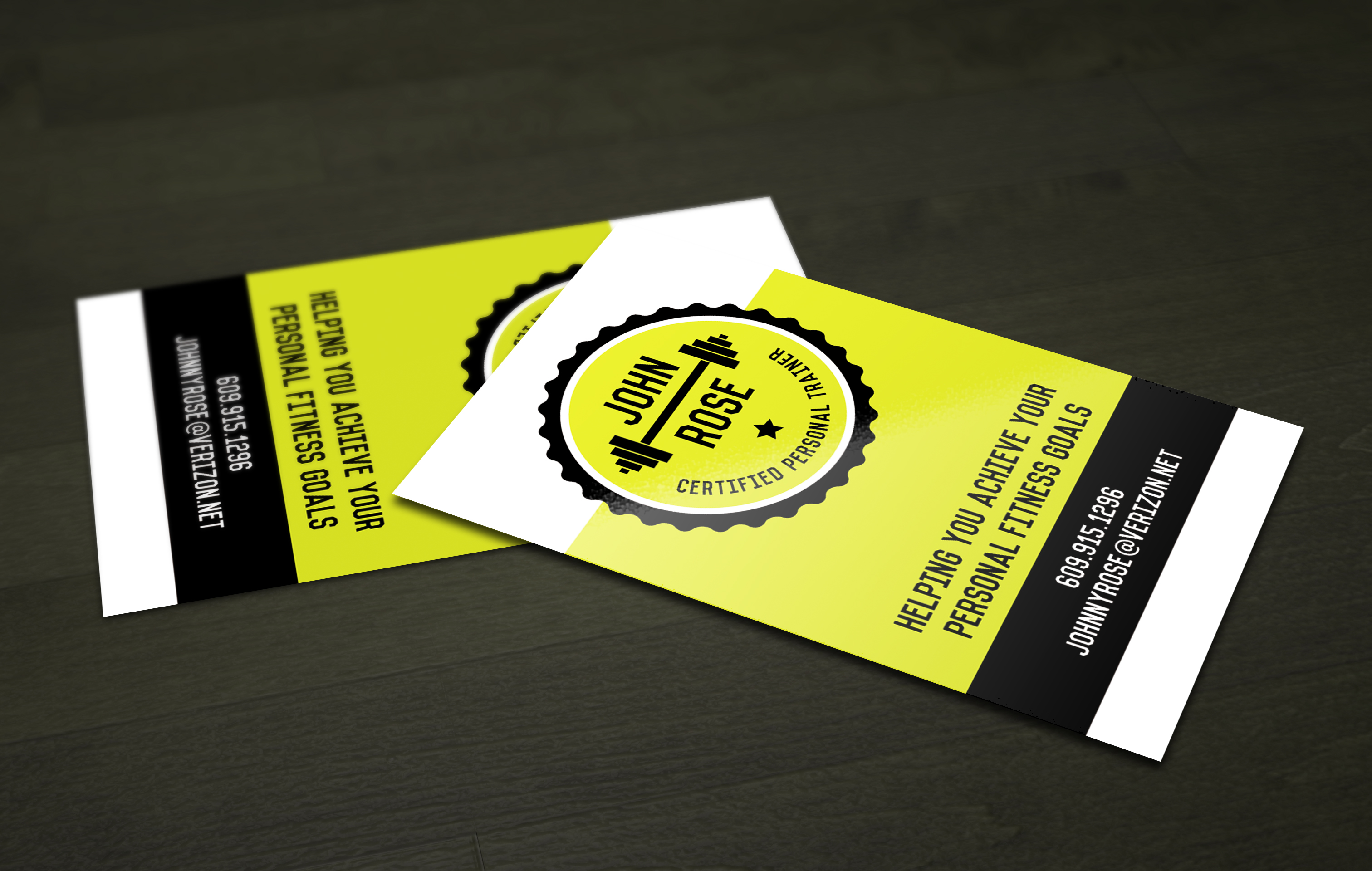 Personal Training Business Cardsalexabusinesscardprinting